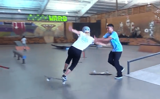 How to ride skate, beginners III